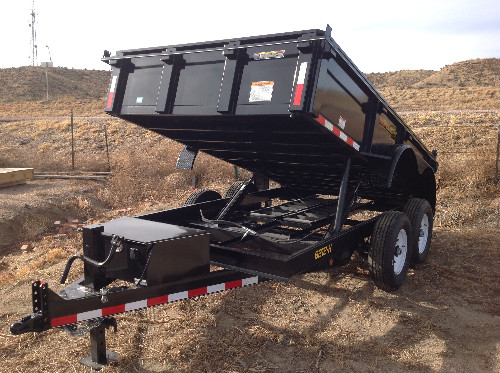 NEW 2015 Doolittle 82 in X 12 ft Dump-Bed