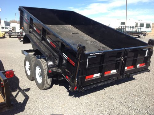 Top Hat heavy-duty dump trailer